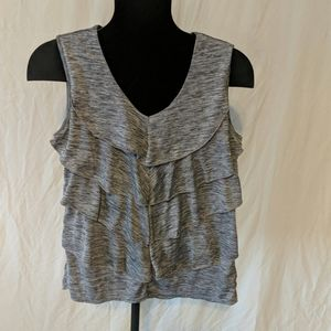 Faded Glory size large grey marled tank top